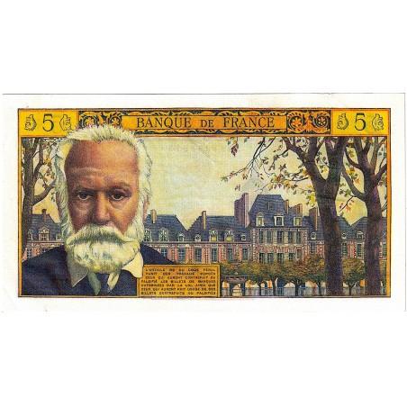 FRANCE - Billet France 5 Nouveaux Francs 1965