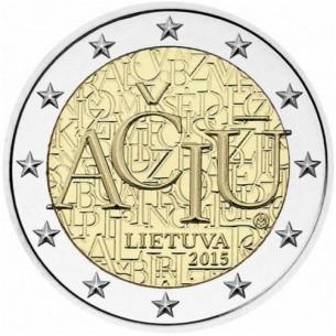 2 Euros commémorative Lituanie 2016