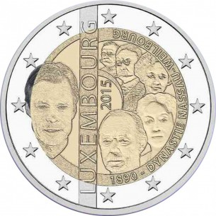 2 Euros commémorative Portugal 2016 pont du 25 avril