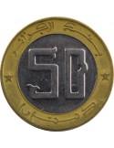 ALGÉRIE 50 Dinars 50ème anniversaire de déclenchement de la guerre (1954-2004) TB/TTB