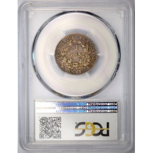 Togo 2 Francs 1924 Bronze-Alu TTB