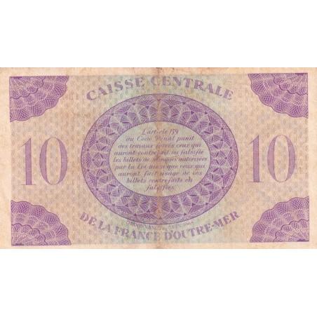 10 Francs  ÉQUATORIALE FRANÇAISE 1943 P.16a
