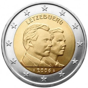 2 Euros com Luxembourg 2014-  Grand duc