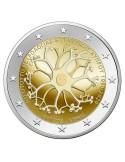 Pièce 2 Euros commémorative Monaco 2019 BE - ascension du Prince Honoré V