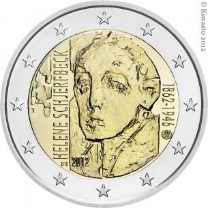 2 Euros com Belgique 2013- Institut Royal Météorologique