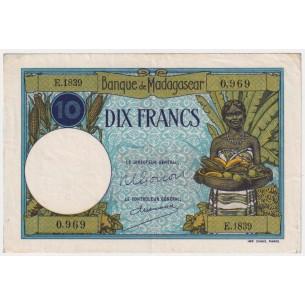 Gabon - Billet 500 Francs  P-02b (1978) B+