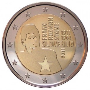 2 Euros com France 2013 - Pierre de Coubertin