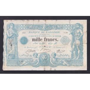 Tunisie - Billet 2 Francs 1918 P-37b TTB