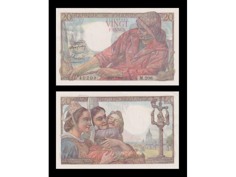 20 Francs Pecheur 1949  F.13.14