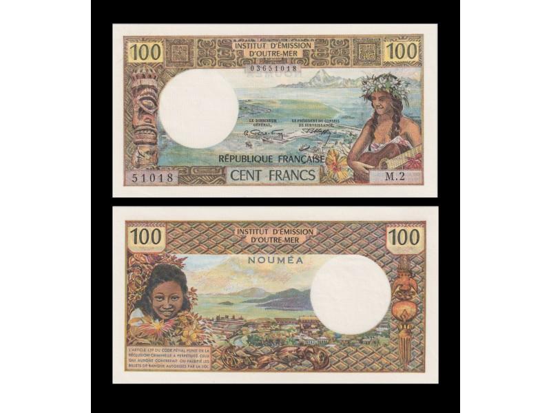 1100 Francs NOUVELLE CALÉDONIE 1972 P.63b
