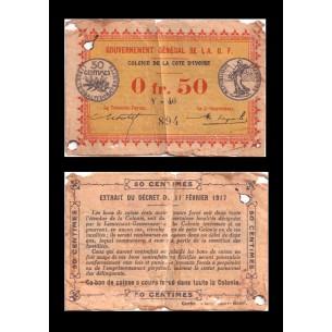 5000 Francs Diplôme Bons de Solidarité 1941-1942