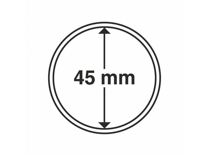 Capsules pour monnaie  45mm