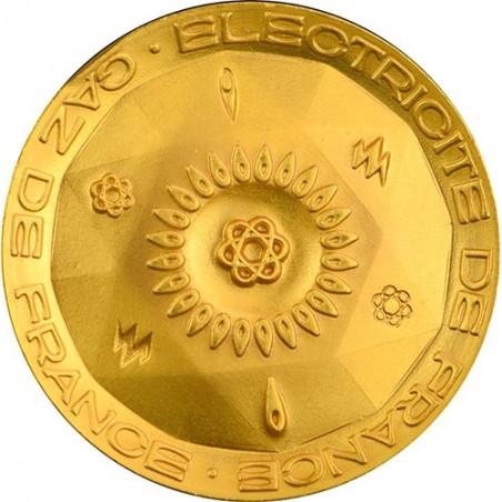 France Médaille Electricité & Gaz de France