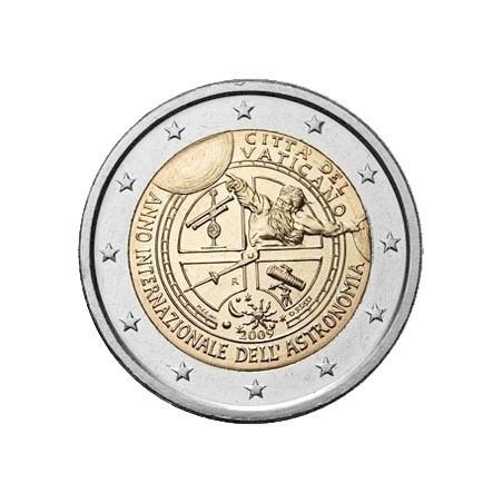 2 Euro  VATICAN 2009 Astronomie