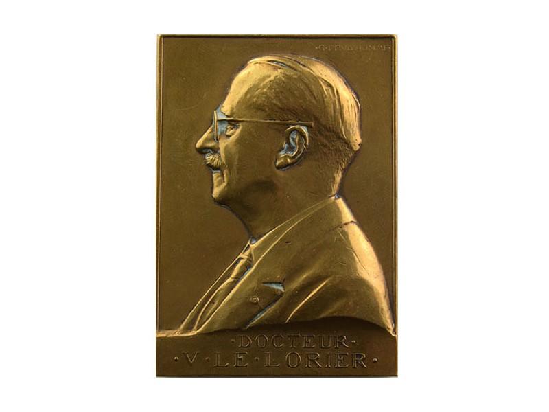 Médaille en Bronze Docteur LORIER
