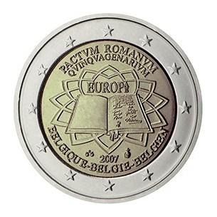 BELGIQUE pièce 2 Euros 2012 -10 ans de l'euro 2012