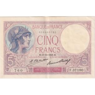 MAROC- Billet 10 Francs 1-7-1928  P-11b