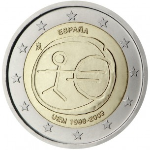 2 Euros Italie 2012 -10 ans de l'euro 2012