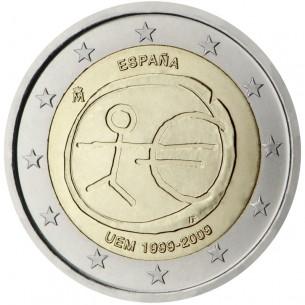 ITALIE pièce 2 euros 2012 -10 ans de l'euro 2012