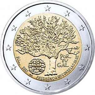 PORTUGAL pièce 2 euros 2012 - 10 ans de l'euro 2012