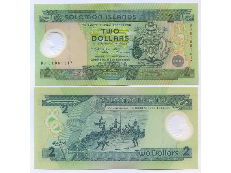 2 Dollars ILES SALOMON P.18