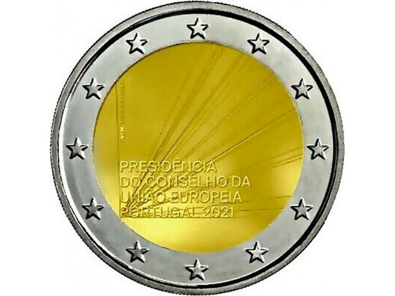 2 Euro PORTUGAL 2021 -Présidence...