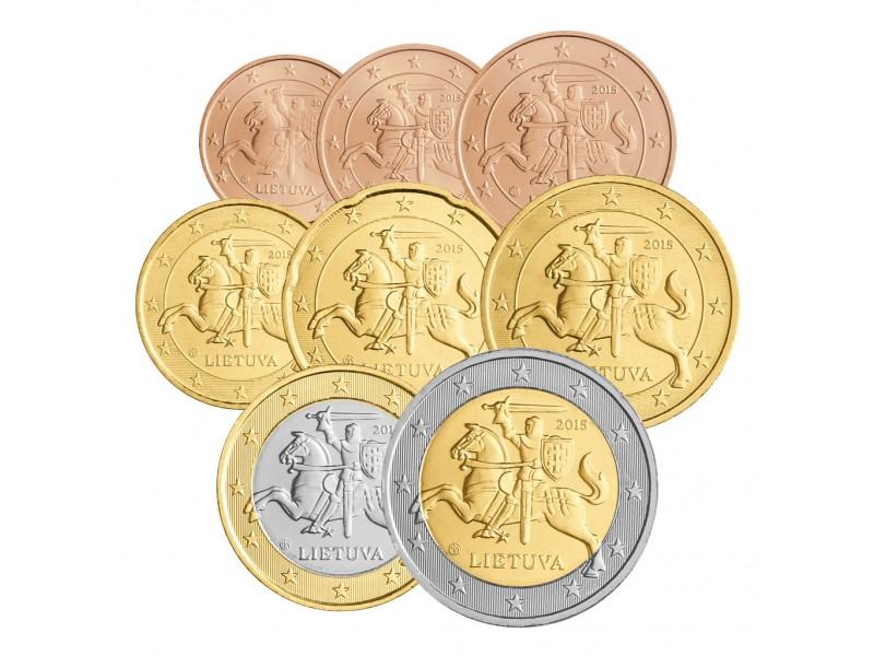 Série Euro LITUANIE 2015
