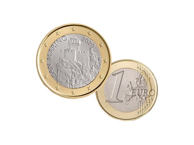 """1 Euro SAINT-MARIN 2021 -  """" La Cesta """""""