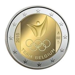 2 Euro commémorative Belgique 2014 1 er Guerre Mondiale -horizondescollectionneurs.com