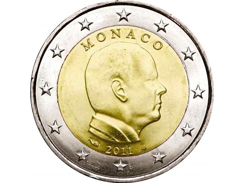 2 Euro MONACO 2007 Portrait du prince Albert II