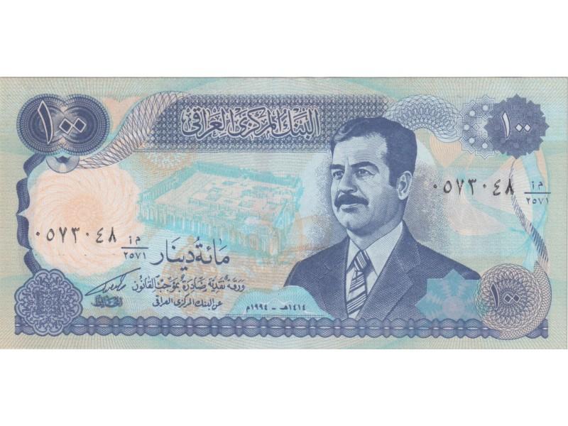 Irak 100 Dinars 1994 P. 84a