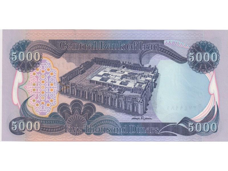 Irak 5000 Dinars 2003 P.94a