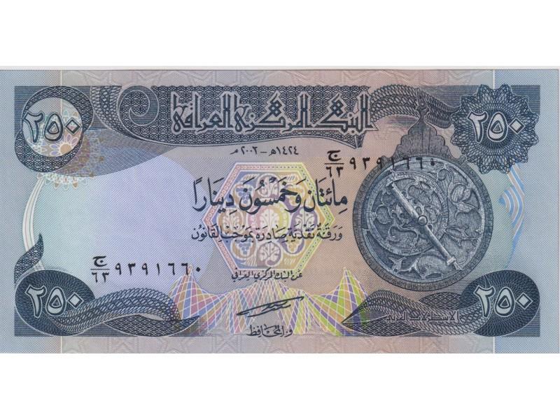 Irak 250 Dinars 2003 P.91a