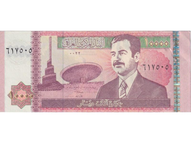 Irak 10000 Dinars 2002 P.89
