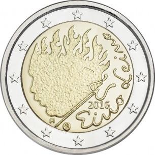 2 Euro commémorative France colorisée 2014