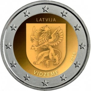 2 Euros Luxembourg 2014 -Grand-Duc Jean