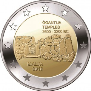 2 Euro commémorative Malte  2014