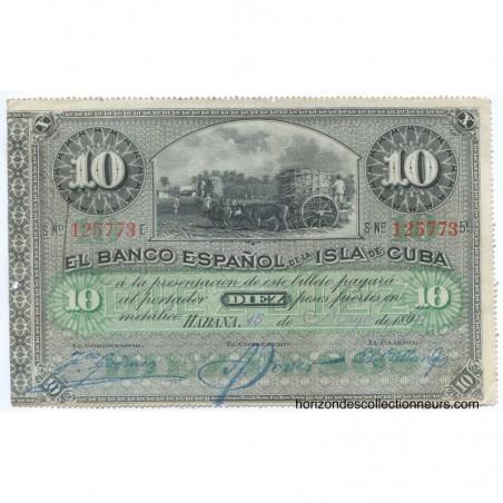 Billets de Cuba