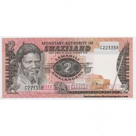 Billets du Swaziland