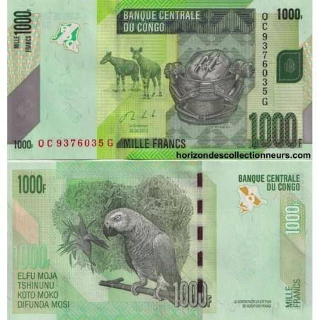 Billets du Congo (Republique)