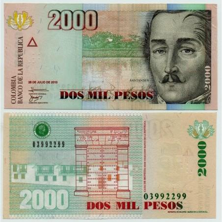 Billets de Colombie