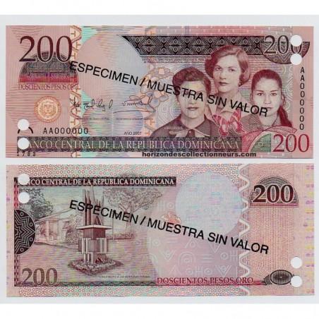 Billets de la République Dominicaine