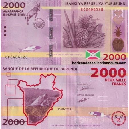 Billets du Burundi