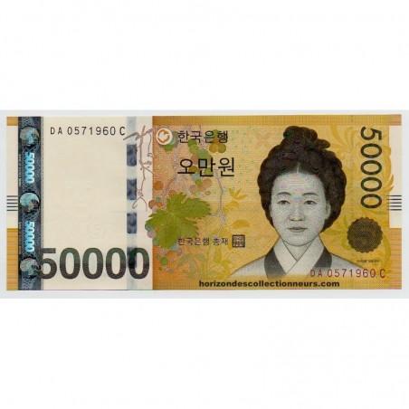 Billets de Corée du sud