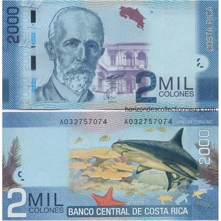 Billets du Costa Rica