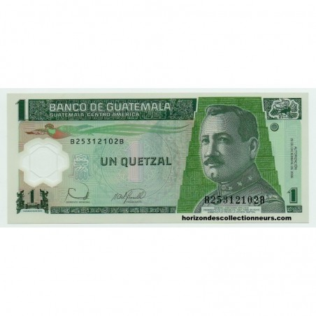 Billets du Guatemala