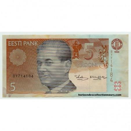 Billets d'Estonie