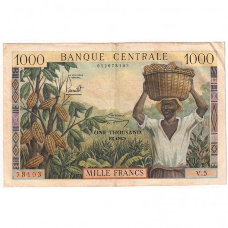 Billets du Cameroun