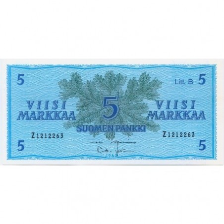 Billets de Finlande
