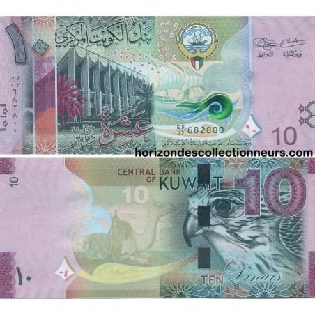 Billets du Koweït